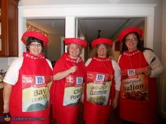 Spice Girls Group Halloween Costume