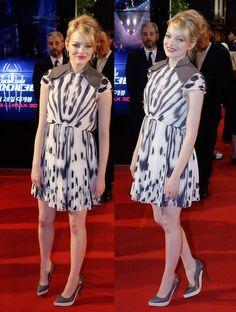 ScarletStiletto: Emma Stone in Fendi - 'The Amazing Spider-Man' Seoul Premiere