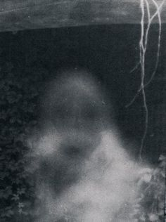 a ghost snapped in an Italian Castle in the 1980's, thought to be the ghost of Templars..