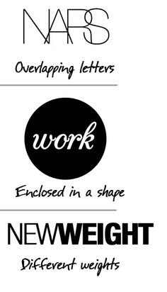 How to create simple text-logo