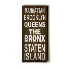 Manhattan Transit Sign