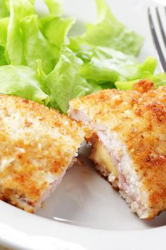 Chicken Cordon Bleu - ⭐⭐⭐⭐⭐ - Oh. My. Gosh! Surprisingly very easy to make. I used Italian bread crumbs and the flavor was amazing! This is my husband's favorite dish and he's a salt fiend, but he didn't even add more! I do suggest if you decide to buy thin sliced chicken breast that you still use a meat mallet to thin them out or you will end up with tiny rolls of deliciousness.