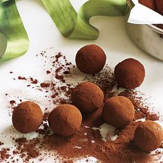 Bourbon-Caramel Truffles Recipe | CookingLight.com