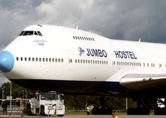 In Stockholm there is a hostel inside of a jumbo jet! I want to go there!  http://bit.ly/1n5I2WL