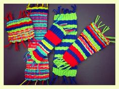 Gr. 2: Weavings! | WEST MIDDLETON ART SMARTIES