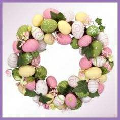OMG, I am thinking you will find the Easter Egg Wreath hanging around my place a BIT after Easter! How about you? Do you not love this idea? I've...