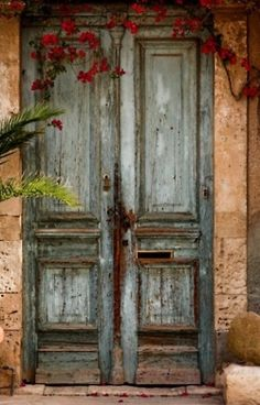 Old double doors like this always make me think of Palestine.
