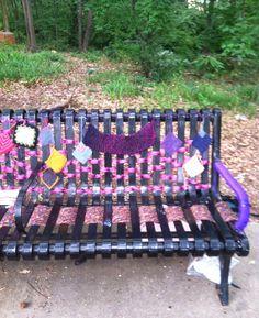 Yarn bombing in Atlanta