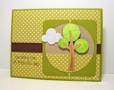 Created with Our Craft Lounge's Tree-ific Trees stamp set.