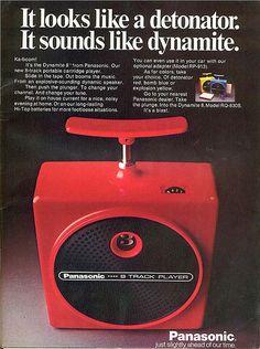 Panasonic 8 track player