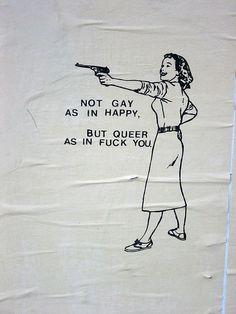 Not gay as in happy