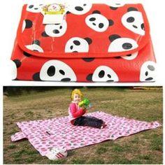 KF Baby Feeding & Play Mat - Panda Jackie (72 x 64 inch)