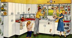 Modern Equipment makes Granny Cooking a Cinch!