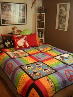 Beatles quilt... OMG... so LOVE!
