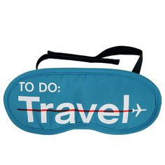 To Do: Travel Eyemask