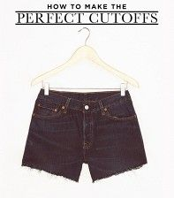 How To Make Your Own Cutoffs—An Editor's Diary