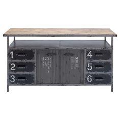 Garage desk please...