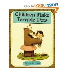 I just bought this book.  Have sub read and then kids will draw themselves as an animal's pet.