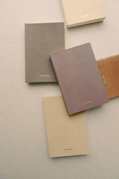 A N V E — LIVRO notebook