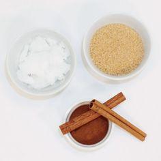 Cinnamon-Sugar Lip Scrub