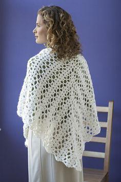 Bridal Shawl: free crochet shawl pattern ✿⊱╮Teresa Restegui http://www.pinterest.com/teretegui/✿⊱╮