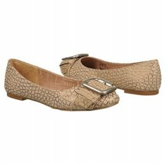 Maddox Flat in Metallic Beige