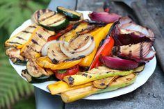 Marinade for grilled veggies