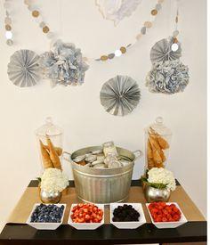 mmm...a sorbet buffet!