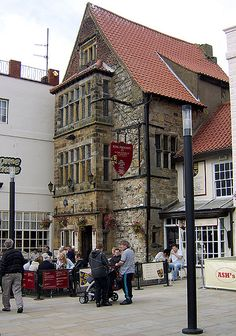 Richard the Third's House, Scarborough, Yorkshire, England