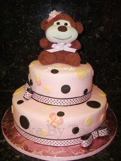 monkey theme, themed cakes, theme cake, girl monkey