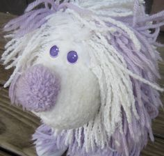 Fluppy dog, how I loved you! Vintage Fluppy Dog 1980's Toy Stuffed Animal by AngelKissJewelry, $8.00