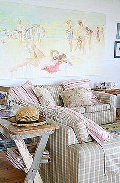 beach house couch.