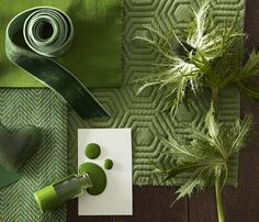 Infuse life and nature into your home with an intense green.
