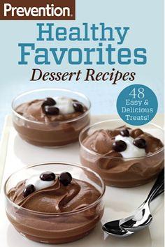 Bargain e-Cookbook: Preventions 48 Easy Dessert Recipes! 99 cents #desserts #dessert #recipe #delicious #cook