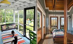 12 serene screened porches