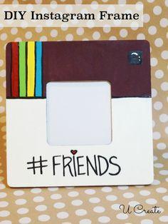 DIY Instagram Frame - great gift for teens, too!