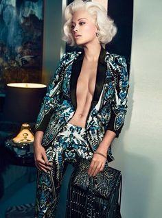 Rita Ora for Roberto Cavalli Fall 2014