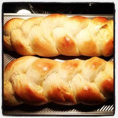 Challah bread.