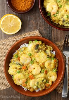 Shrimp Curry (In A Hurry) #WeekdaySupper #RecipeOfTheDay