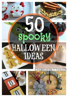 50 Spooky Halloween Ideas!!