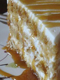 Butterscotch Mascarpone Cream Layer Cake!