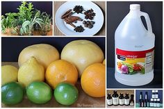 Naturally Scented All-Purpose Citrus Vinegar Cleaners