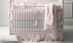 Frayed Ruffle Nursery Bedding Collection | Restoration Hardware Baby & Child