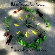 Nature Hunt Mandala from Mosswood Connections