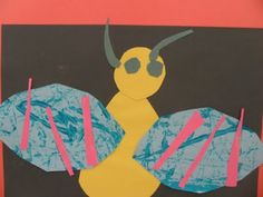 Preschool bumbl bee, bug art, bumble bees, preschool