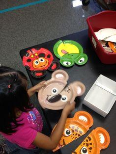 Animal Paper Plates | Mrs. Cardenas' Bilingual Prek Classroom