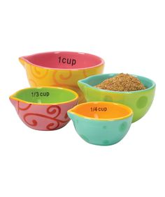 Four-Piece Measuring Cup Set