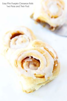 Easy Mini Pumpkin Cinnamon Rolls Recipe