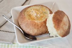 Homemade Bread Bowls??? yes.