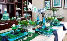 parti full, parti decor, golf parti, parti idea, themed parties